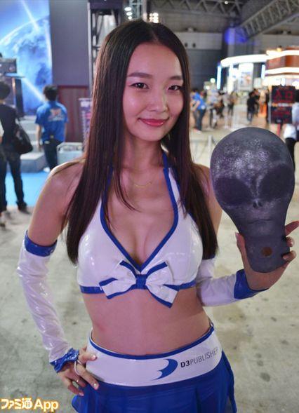 东京电玩展Showgirl:日本的美女都在这儿了