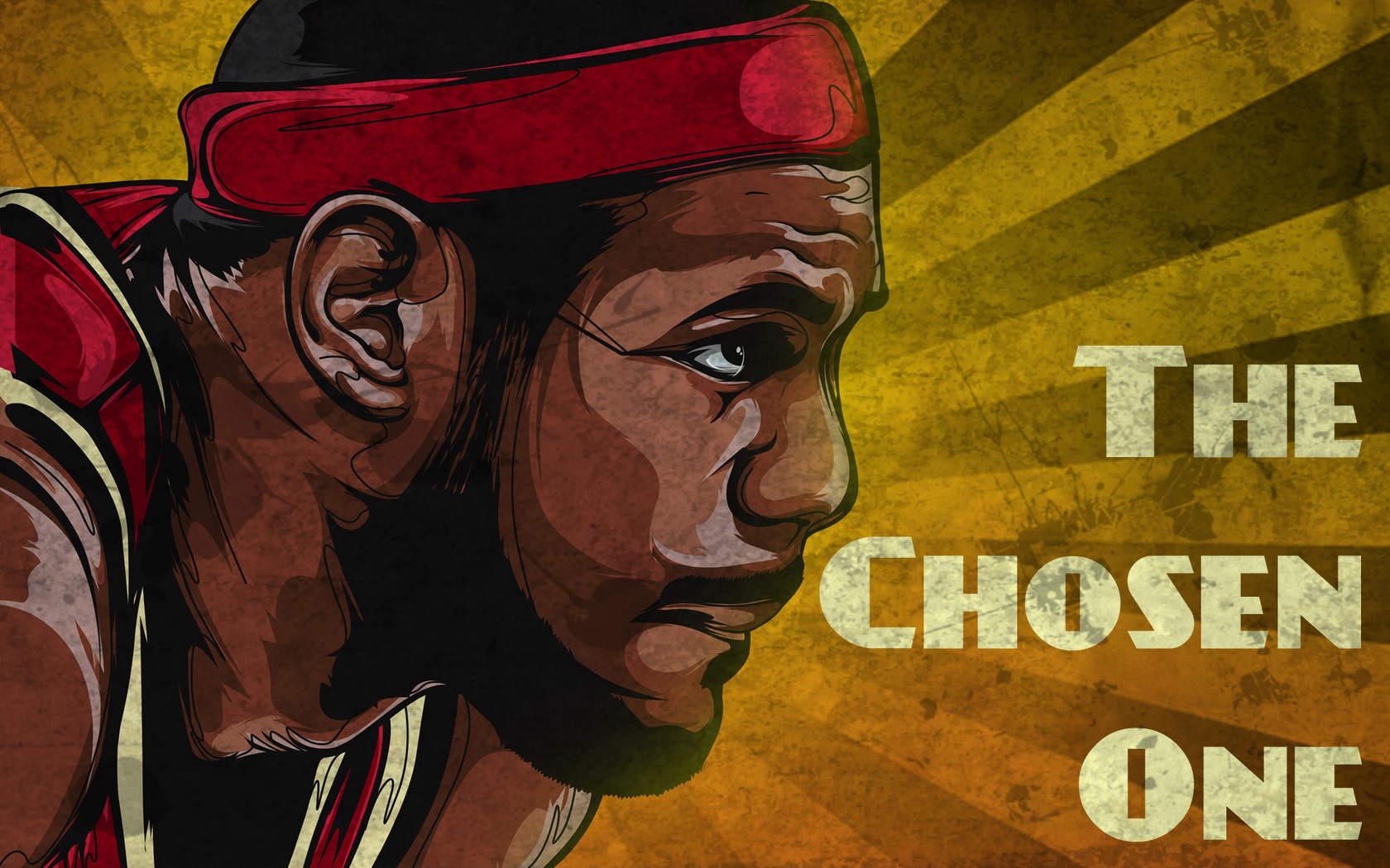 篮球运动员勒布朗·詹姆斯经典桌面壁纸_勒布