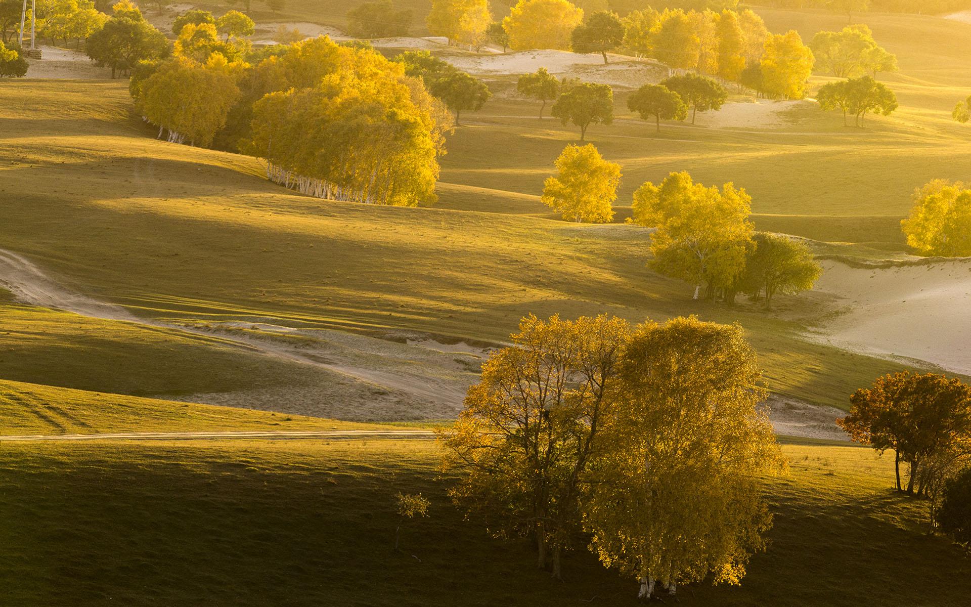 夏季旅游好去处_河北坝上草原优美风景壁纸_桌面壁纸_mm4000图片大全